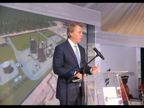 Chairman of New Fortress Energy, Wes Edens.