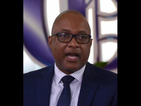 Dunstan Bryan, permanent secretary in the Ministry of Health and Wellness.