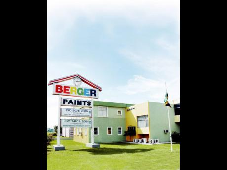Berger Jamaica headquarters in Kingston.