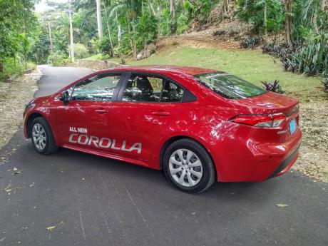 Toyota has not been shy about styling of the new Corolla.