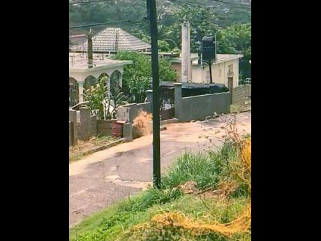 This Rosemount Gardens home in Montego Bay has been a flood casualty for 20 years. The owners said that the National Housing Trust has not fulfilled promises to intervene.