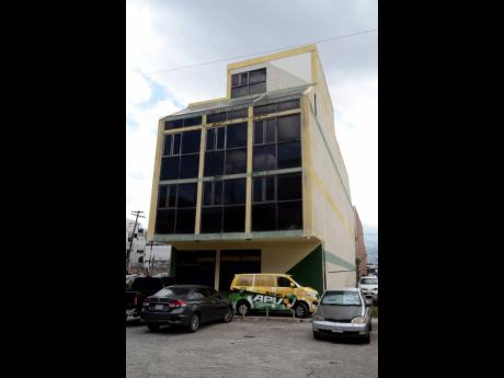 Jamaica Football Federation Headquarters in Kingston.