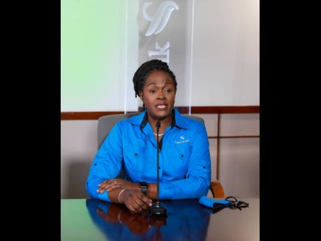 Sagicor Bank Jamaica CEO Chorvelle Johnson Cunningham.