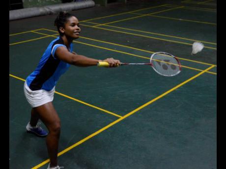 National badminton player Katherine Wynter.