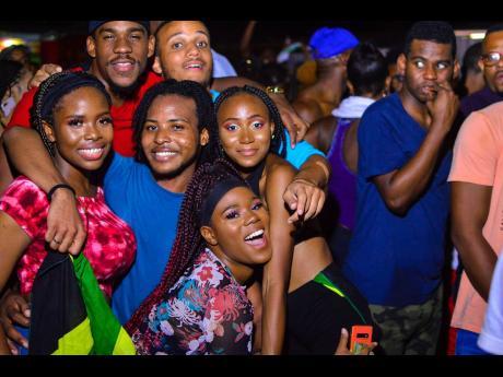 Revellers at Hardwine 2019