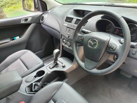 The interior is ready to work with plenty of space and comfort.