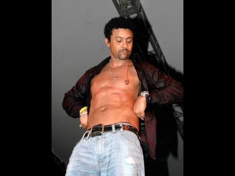 Shaggy bears his chest during a 2005 performance. Now 52, Shaggy says he doesn't feel older, eats right, exercises and takes care of himself, but knows he doesn't look how he did 20 years ago.