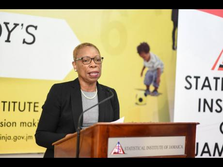 Statistical Institute of Jamaica Director General Carol Coy.
