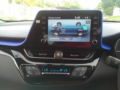 Watching the power flow display on the infotainment screen becomes a mental game, after a while in order to extract as much mpg out of the CH-R as possible.