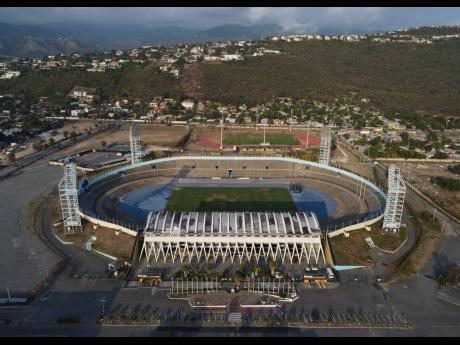 The National Stadium at Independence Park in Kingston is a proposed venue for games in the upcoming National Premier League season set to start on Saturday, November 14.