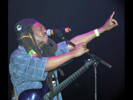 Steel Pulse lead singer, David Hinds.