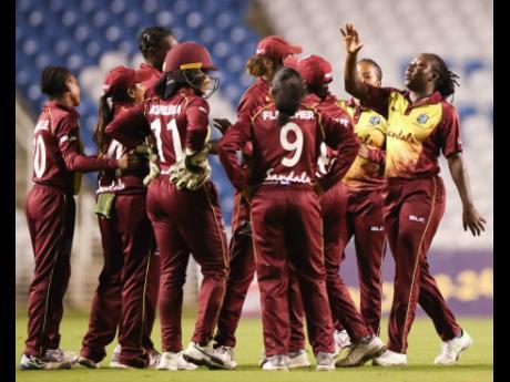 The West Indies Women's cricket team.