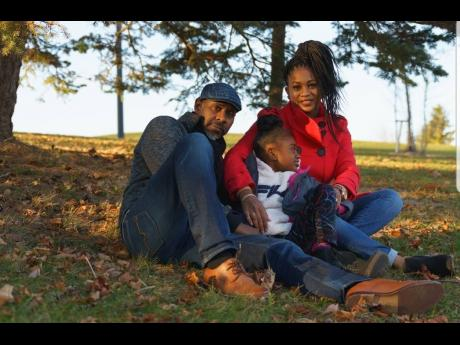 Sean and Annasha Martin with their daughter, Shayla.