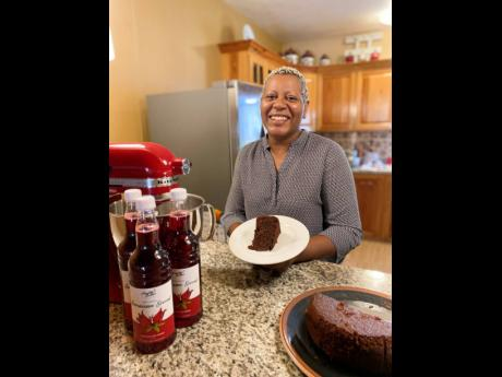 Meet the talent behind Freshly Baked by Audrey's great sorrel and fruit cake, Audrey Harris.