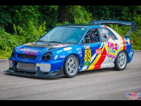 The Subaru WRX of Jaleel Handal was always a beauty to the eyes.