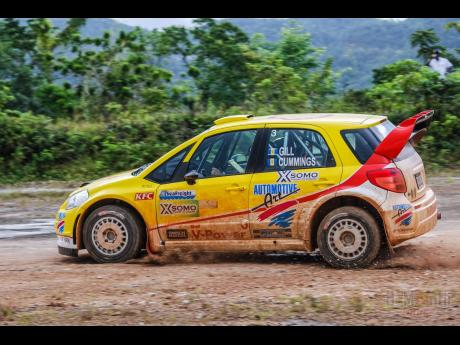 Sean Gill from Trinidad loved the Jamaican rally stages, while driving his Suzuki Swift rally car.