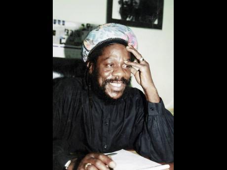 Great reggae icon, Dennis Brown.