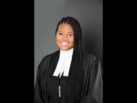 Young lawyer, Courtni Ann Allen.