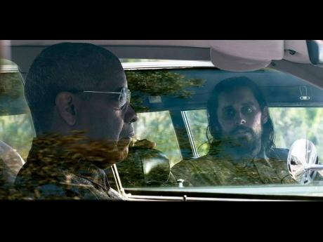 Denzel Washington (left) and Jared Leto in 'The Little Things'.