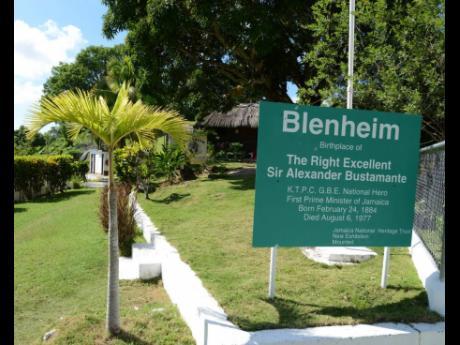Blenheim, home of Alexander Bustamante.