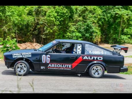 The immaculate Toyota Corolla SR5 of Patrick Gore of the Gore racing family.
