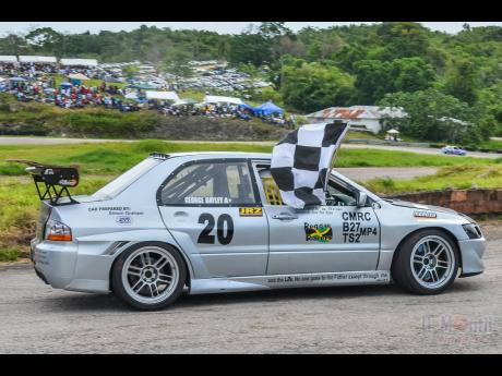 Rumour has it that the ex George Bayley Mitsubishi Evolution will be campaigned by a veteran racer in the near future.