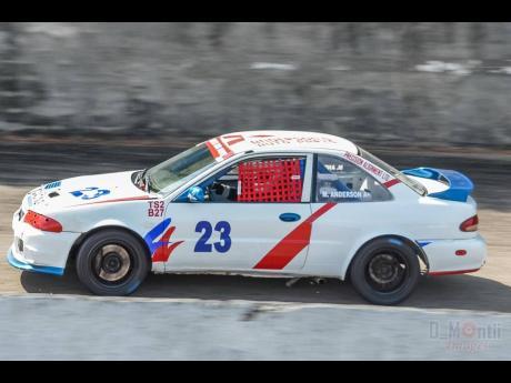 Martin Anderson's turbocharged Mitsubishi Mirage was fast.