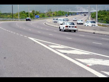 A section of the Portmore toll highway operated by TransJamaican.