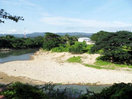 A section of Rio Cobre.