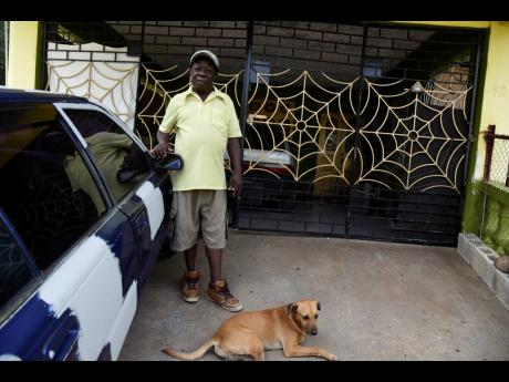 Ignatius Parke, of Sunnyside, recalls the day when he experienced the worst flooding by the Rio Cobre in 2017. The water level rose up as high as his car parked in his veranda.