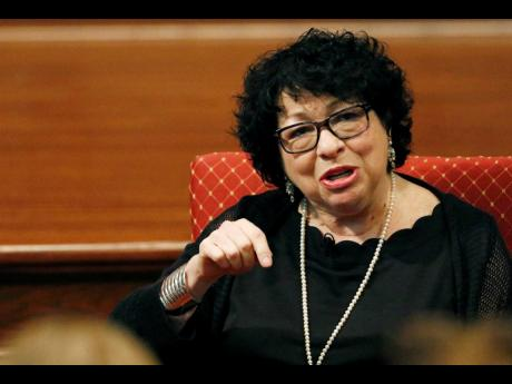 Vice-President-elect Kamala Harris chose Supreme Court Justice Sonia Sotomayor for her swearing-in, according to a person familiar with the decision. Sotomayor will use two Bibles for the swearing-in, one of which belonged to Thurgood Marshall, the first b