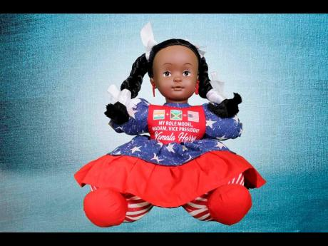 Island Dolls will host a local display of the doll collection in its entirety – representing Kamala Harris from childhood to the delivery of her acceptance speech last year.
