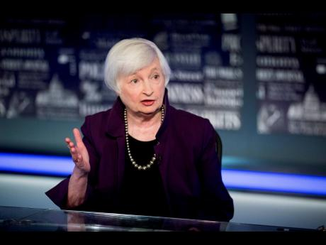Treasury Secretary nominee, Janet Yellen.