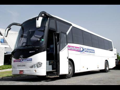 A Knutsford Express luxury coach.
