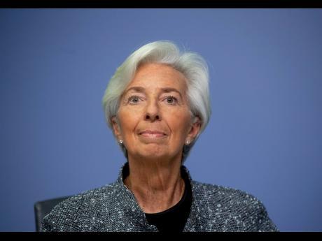 President of European Central Bank Christine Lagarde.