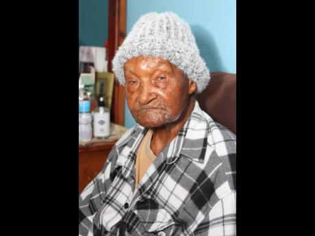 Centenarian Stephen Wright.