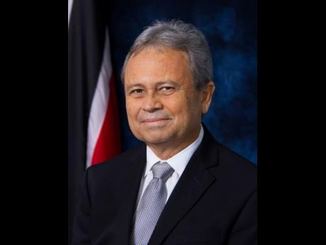 Colm Imbert, finance minister of Trinidad & Tobago.