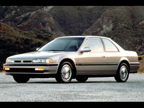 1992 Honda Accord.