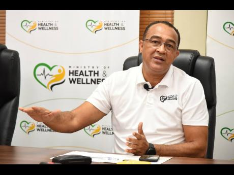 Minister of Health and Wellness, Dr Christopher Tufton.