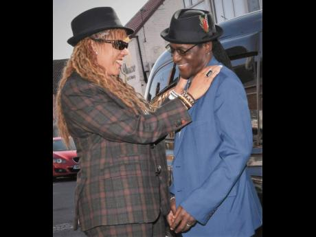 3. January 5 marked Dr Neville Staple and Christine's seventh wedding anniversary. The couple's recent project, a single titled 'Be Free Baby', is an ode to their relationship and ska.