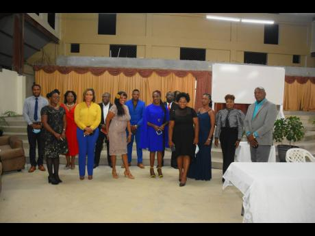 Board of Directors and members of the executive of the South St Catherine Chamber of Commerce.