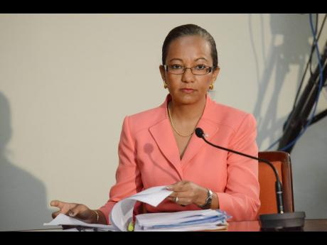 Permanent Secretary in the Ministry of Labour and Social Security, Colette Roberts-Risden.