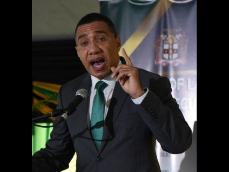Prime Minister Andrew Holness announced relaxed coronavirus restrictions.