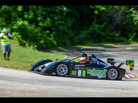 Columbian Nico Castillo was a fast learner when he piloted the Rocket Karting Radical SR8 for the first time at Dover.