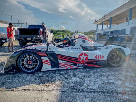 The New Radical RXC Spyder of Kyle Gregg is lighter and rumoured to be faster than his previous car. This car is now in Barbados where he hopes to get well needed seat time as he awaits the resumption of racing in Jamaica.