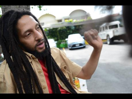Julian Marley said his father, Bob Marley, was about love and living in harmony.