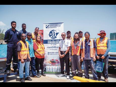 Seafarers from Portside Towing were treated by the Maritime Authority of Jamaica on Day of the Seafarer 2019. Under its 2020 Disaster Risk Management Order in June, Jamaica designated seafarers as essential workers.