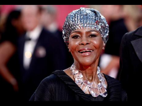 The memorial service for Cicely Tyson, the actress who gained an Oscar nomination for her role as the sharecropper's wife in 'Sounder', was held on Tuesday.