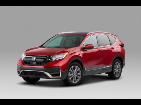 LEFT: 2020 Honda CR-V.