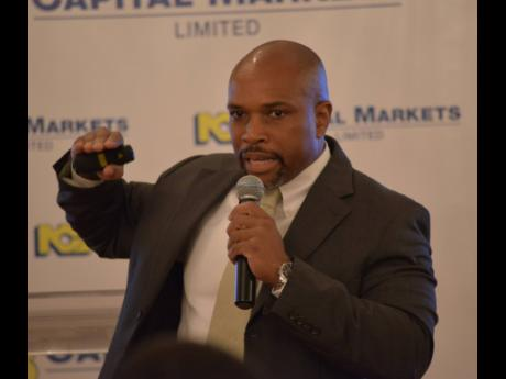 Herbert Hall, vice-president of investment banking, NCB Capital Markets Limited.